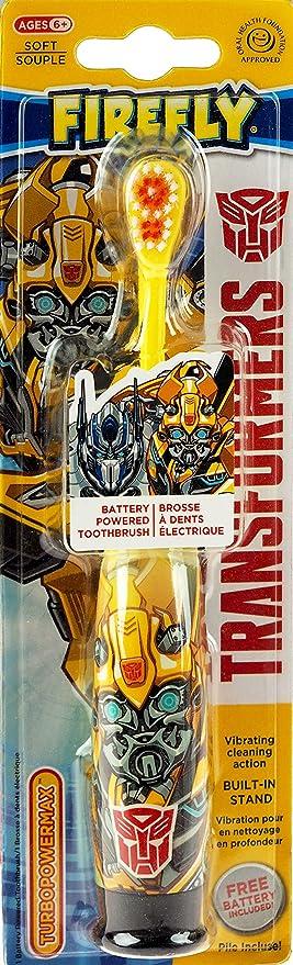 Firefly Transformers - Cepillo de Dientes (Funciona con Pilas, Color al Azar): Amazon.es: Hogar