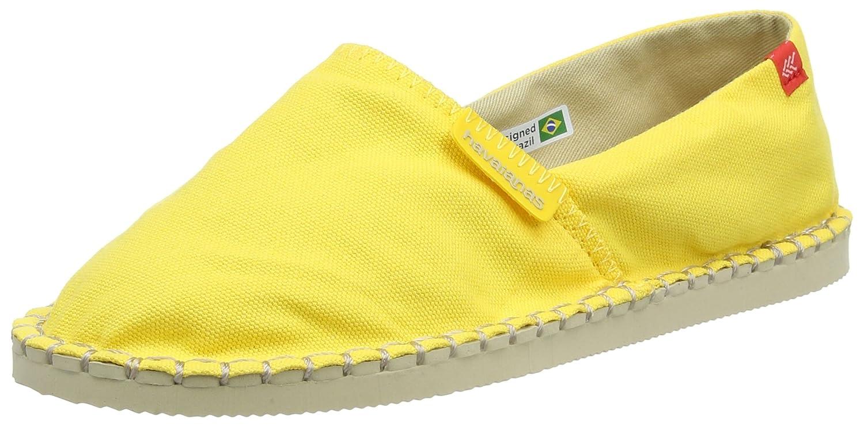 Havaianas Origine Iii, Alpargatas para Unisex Adulto, Amarillo (Yellow), 37 EU (35 Brazilian): Amazon.es: Zapatos y complementos
