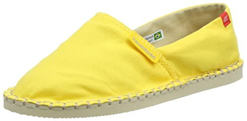 Havaianas Origine Iii, Alpargatas para Unisex Adulto, Amarillo (Yellow), 37 EU