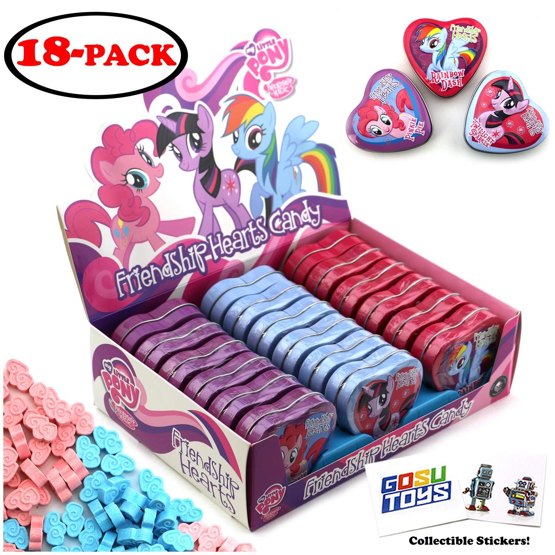 My Little Pony – Estuche de 18 unidades, diseño de corazones ...