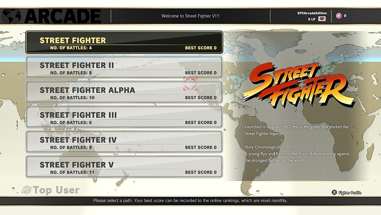 Amazon com: Street Fighter V: Arcade - PlayStation 4