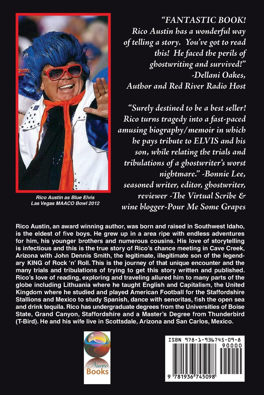 In The Shadow Of Elvis, Perils Of A Ghostwriter: Rico Austin:  9781936745098: Amazon: Books