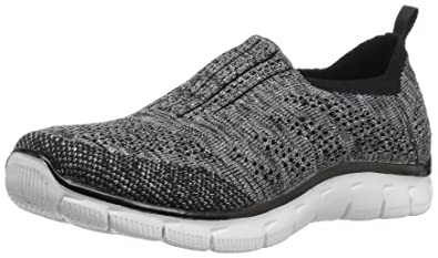 SKECHERS SPORT Flex Fit High Demand 11 Taupe STRETCH SLIP ON Laceless Sneakers
