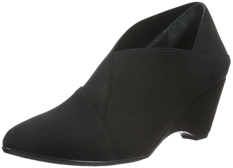 United Nude Origami Mid, Zapatos de Tacón con Punta Cerrada para Mujer 36 EU|Negro (Black)