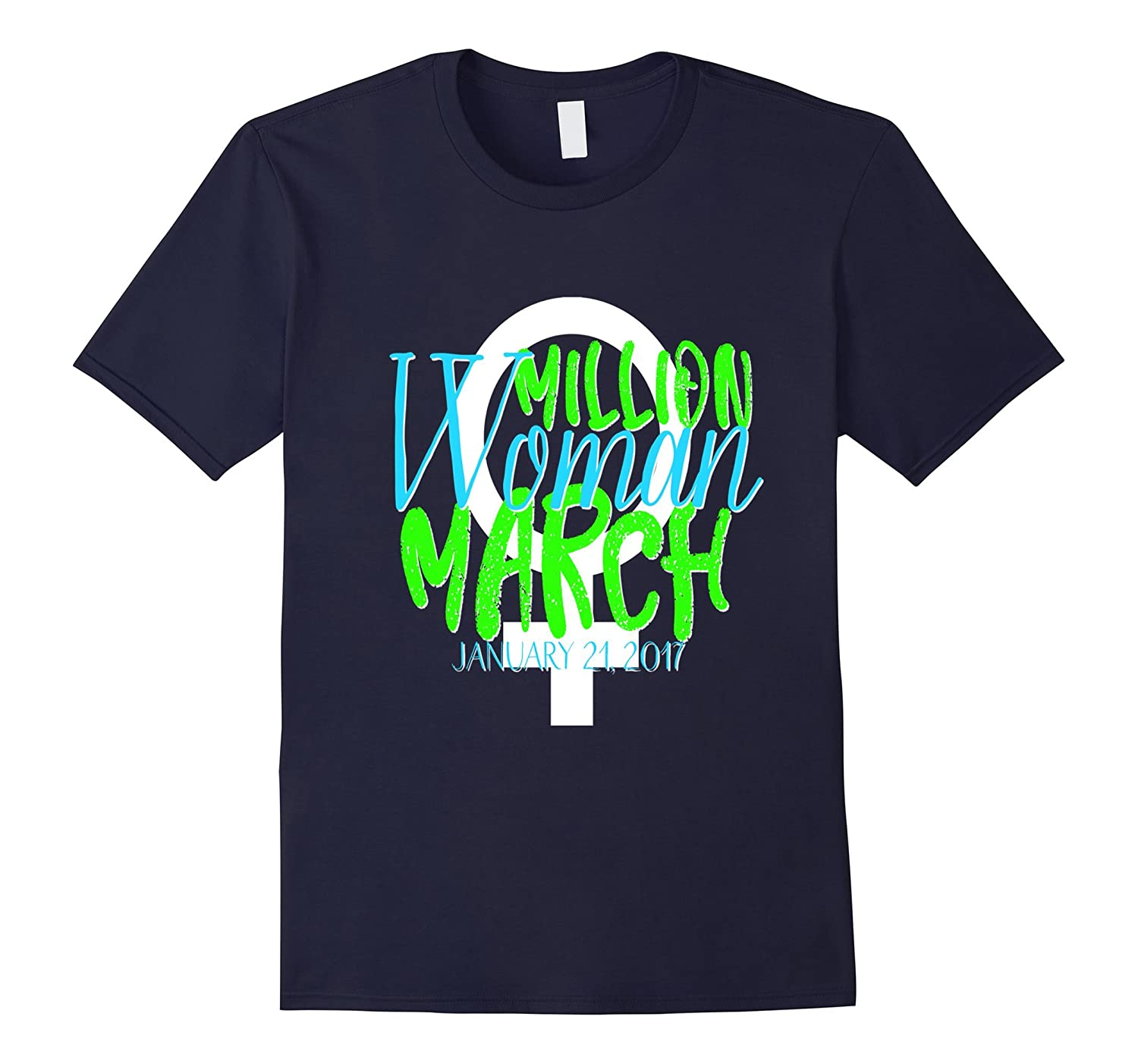 Million Women March Shirt MWM Nasty DC Feminist Lime-Art