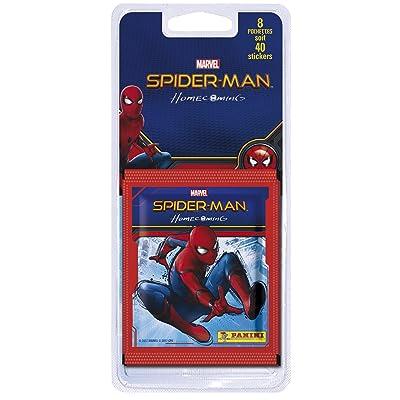Panini Spiderman 6 Movie - Home Coming Blister 8 Pochettes, 2316-038, Non