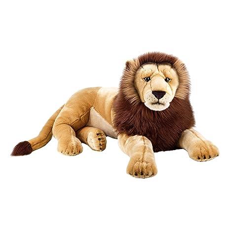 leone peluche  Venturelli Leone Super Gigante Ngs 978, Multicolore, 8004332707554 ...