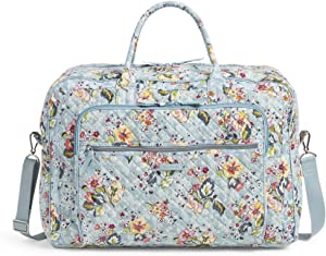 Vera Bradley Signature Cotton Grand Weekender Travel Bag, Floating Garden