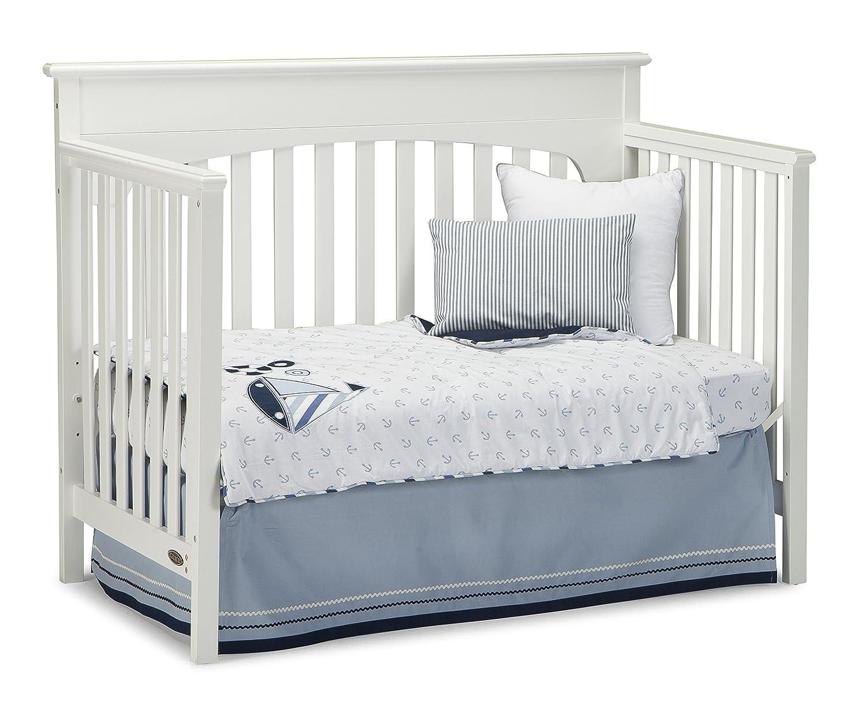 Amazoncom Graco Lauren Convertible Crib White Baby - Convert crib into toddler bed