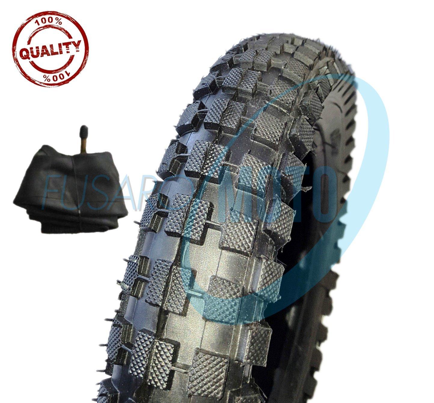 c/ámaras de aire 1/neum/ático de goma con cubierta con tacos para minimoto y minimoto de cross 12/1//2/x 2,75/