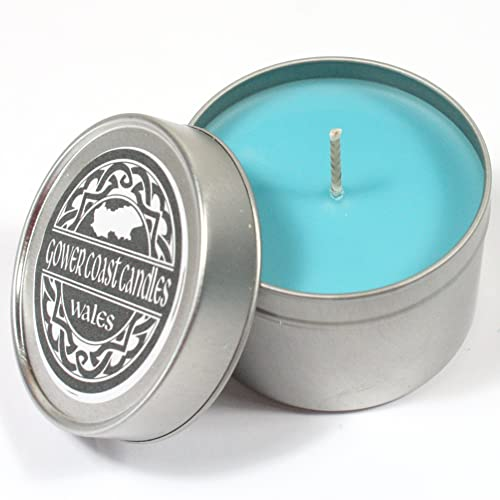 Unstoppable Fresh Blue Handpoured Highly Scented Candle Tin