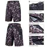 Souke Sports Men's Workout Running Shorts Quick Dry