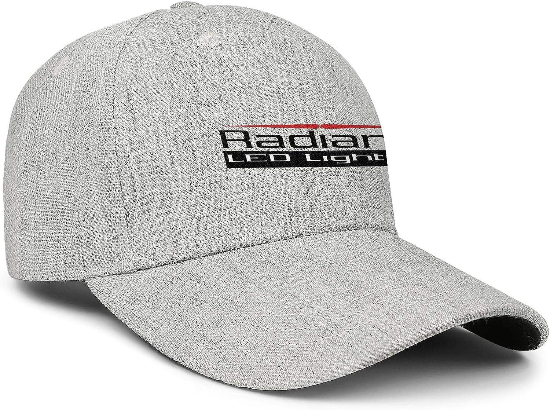 COOLGOOD Radiantz-LED-Lighting Warm Wool Blend Trucker Caps Mens Women Relaxed Fishing Hat