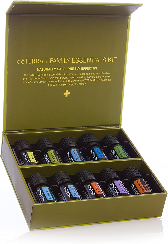 doTERRA Family Essentials - Kit de 10 aceites