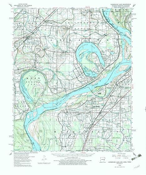 Amazon.com: YellowMaps Horseshoe Lake AR topo map, 1:62500 ... on map of arizona, map of mo, map of arga, map of arkansas, map of ca, map of ok, map of gh, map of vb, map of il, map of la, map of gl, map of re, map of va, map of le, map of lp, map of ic, map of ms, map of tx, map of usa, map of ak,