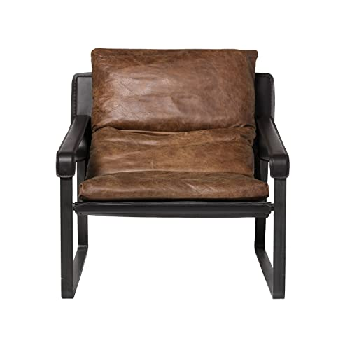 Moe s Home Collection Connor Club Chair, Brown
