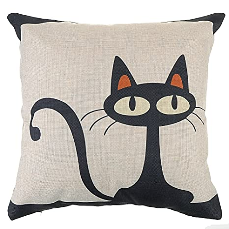 Cubierta Cojín amantes de gatos