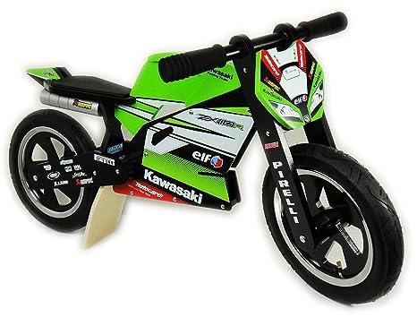 Kawasaki Ninja ZX10R impulsor! Regular madera y neumático ...
