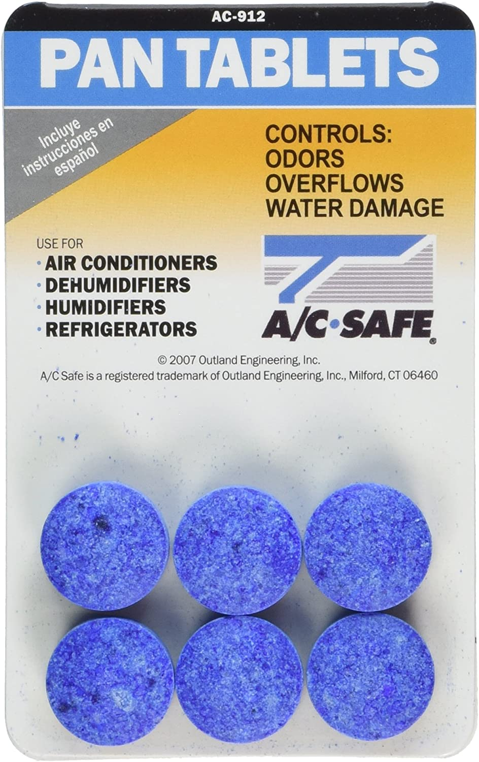 Outland Air Conditioner Pan Cleaner Tablets
