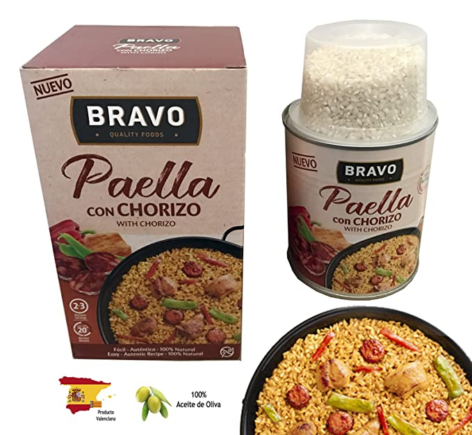 Paella, cocina fácil y rápida con todo el sabor de la dieta mediterránea, una