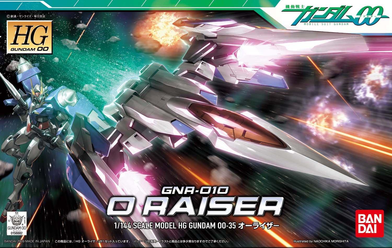 GNR-010 O Raiser GUNPLA HG High Grade 00 Gundam 1//144