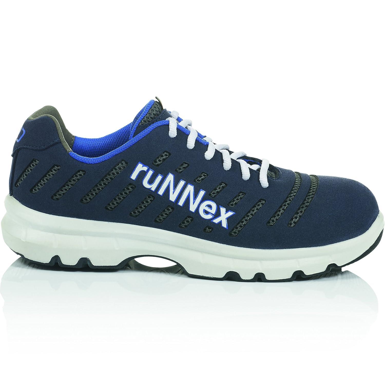 RuNNex 5173-41 S1P-ESD-Sicherheitshalbschuh FlexStar, FlexStar, FlexStar, 41, Blau Weiß   Grau 2b6733