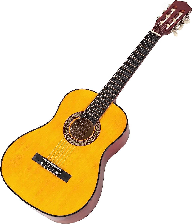 Música callejón MA-34-N Clásica guitarra acústica, guitarra de los niños y Guitarra junior