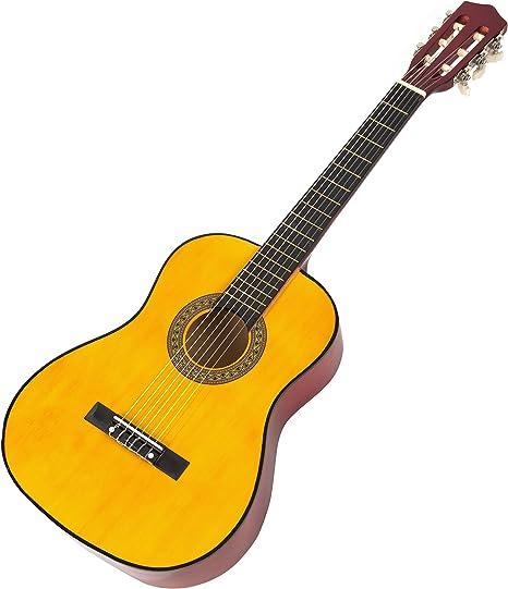 Música callejón MA-34-N Clásica guitarra acústica, guitarra de los ...