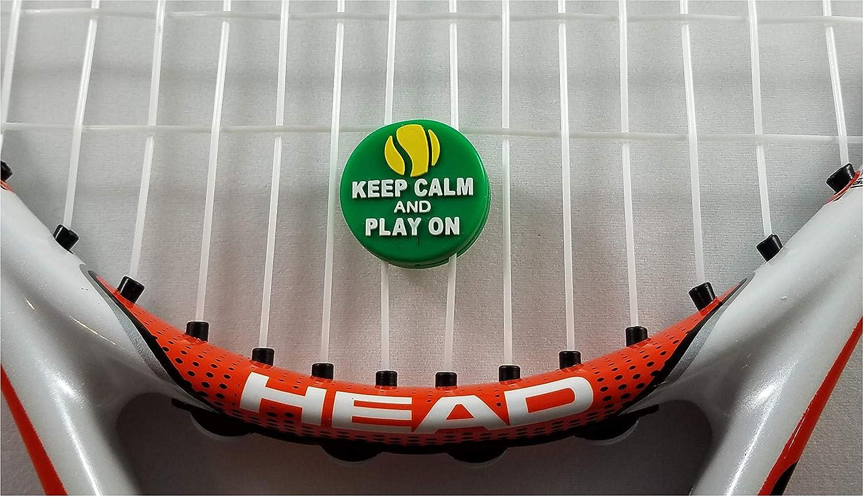 Amazon.com: El amortiguador de vibración de tenis mantiene ...