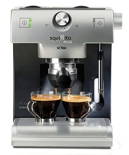 Solac CE4550 Máquina espresso Plata 1,2 L 2 tazas - Cafetera ...