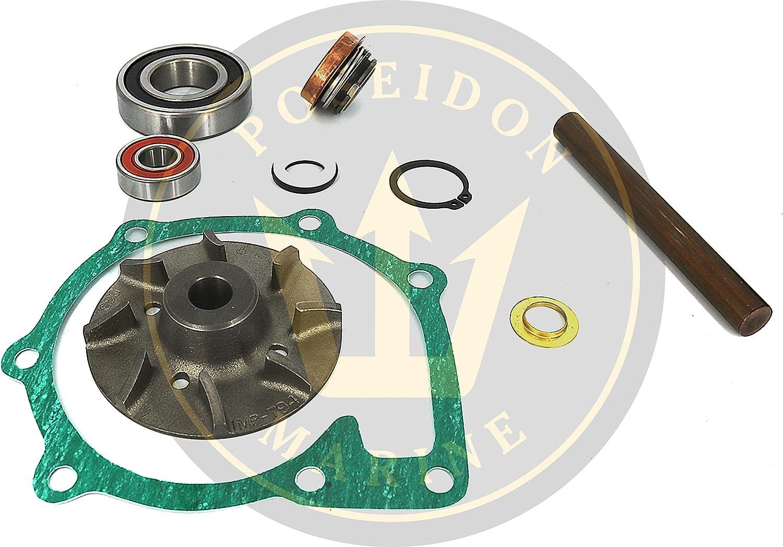 Poseidon Marine Circulation Pump Repair kit for Volvo Penta D41 D42 D43 D44 RO: 876794 876544