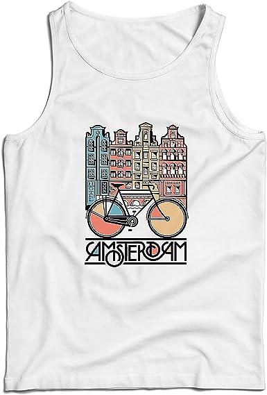 lepni.me Camisetas de Tirantes para Hombre Bicicleta Vintage de la ...