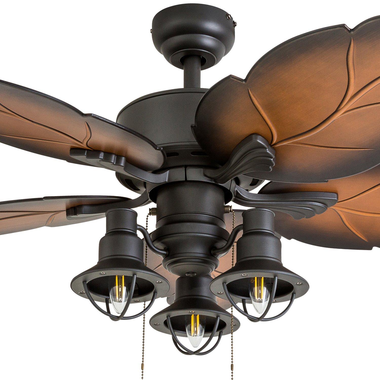 Prominence Home 50815 01 Ocean Crest Tropical Ceiling Fan Bluetooth Wiring Diagram 52 Mocha Bronze
