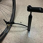 Amazon.com: Bomba de cilindro doble para bicicleta con ...