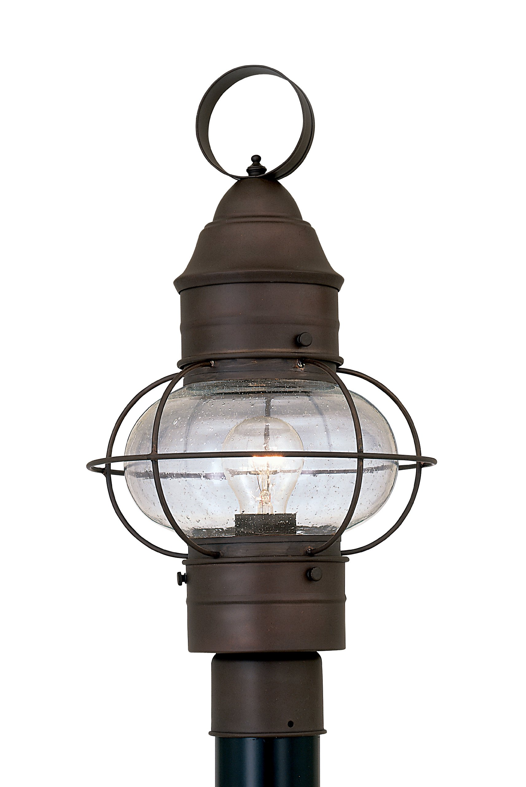 Designers Fountain 1766-RT Nantucket Post Lanterns, Rustique by Designers Fountain