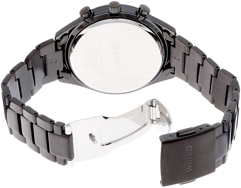 Amazon.com: SEIKO WIRED watch Quartz WIRED CHRONOGRAPH MODEL AGAV119 ...