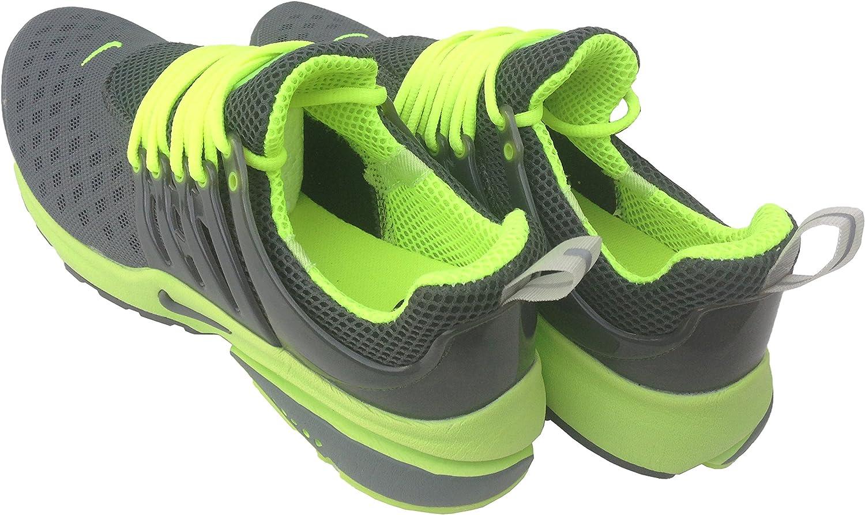 Nike Air Presto Carbono Gris Fluorescentes Mens tamaño 10 Zapatillas Deportivas Zapatillas Shox Zapatos: Amazon.es: Deportes y aire libre