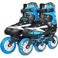 IRIS Adjustable Inline Speed Skates for Kids 3 Wheel, 110 mm