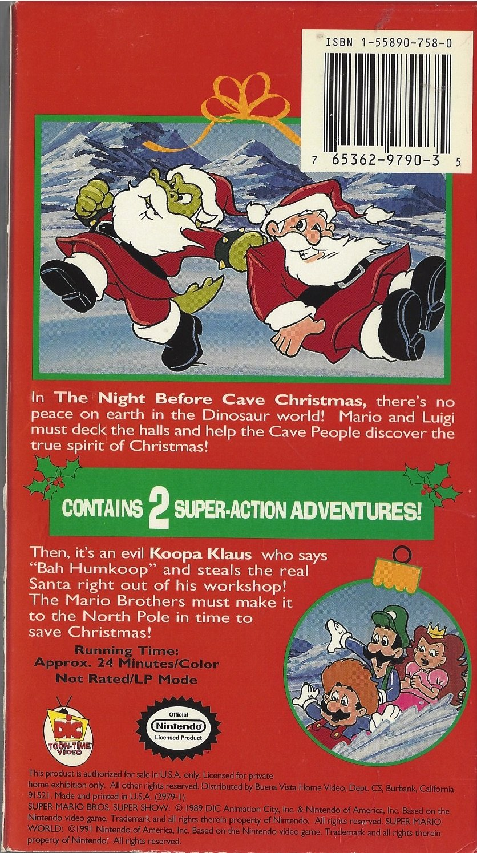 Super Mario World Christmas.Amazon Com Super Mario Bros Super Christmas Adventures