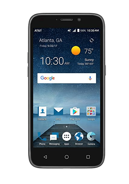 Lte Zte Smartphone 4g At Unlimited Prepaid Phone amp;t Maven 3 Cell