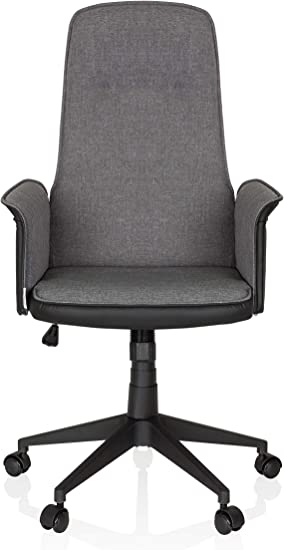 Drehstuhl Bürostuhl Chefsessel Schreibtischstuhl schwarz grau RELAX CX 100