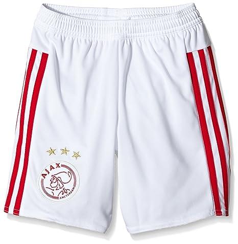 white Bianco Corti Ajax Adidas Pantaloni Bambino Replica Home P71q1nA