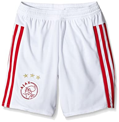 separation shoes d4a15 2adde adidas Ajax Children's Replica Shorts Home Kit, Children's ...