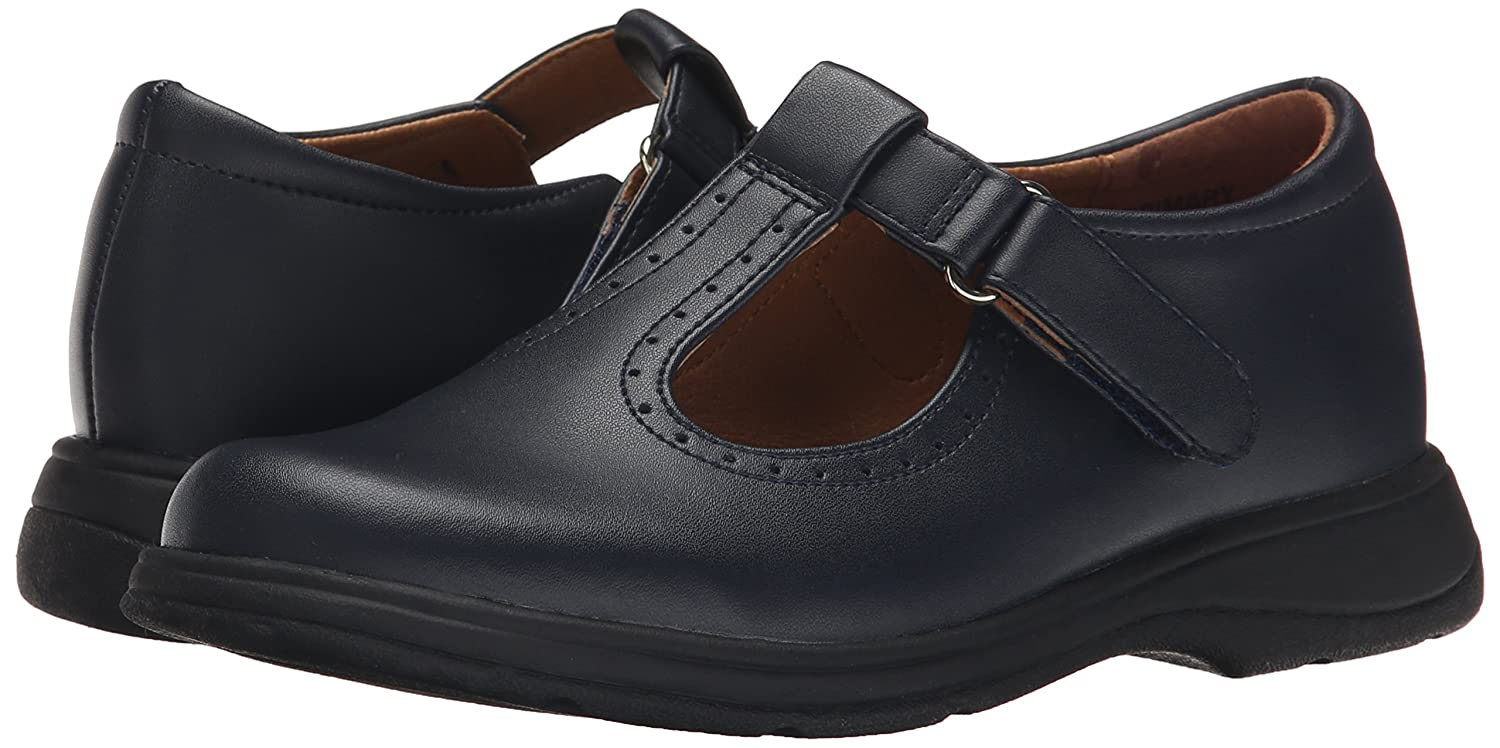 School Issue Primary T-Strap Flat Womens