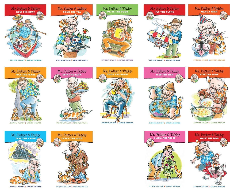 Houghton Mifflin 9780152062934 Harcourt Mr. Putter and Tabby Books, 1'' Height, 8'' Width, 10'' Length