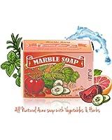 Memoir Natural Acne Cleanser Soap - Hyaluronic Acid, Tomato & Cucumber Extract, Grapefruit, Tea Tree & Eucalyptus Oil - Great for Sensitive Skin - Acne Treatment, Body & Face Wash, Blackhead Removal