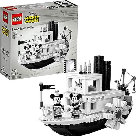 Disney Lego Steamboat Willie 21317 NIB Mickey Mouse Rare B/&W