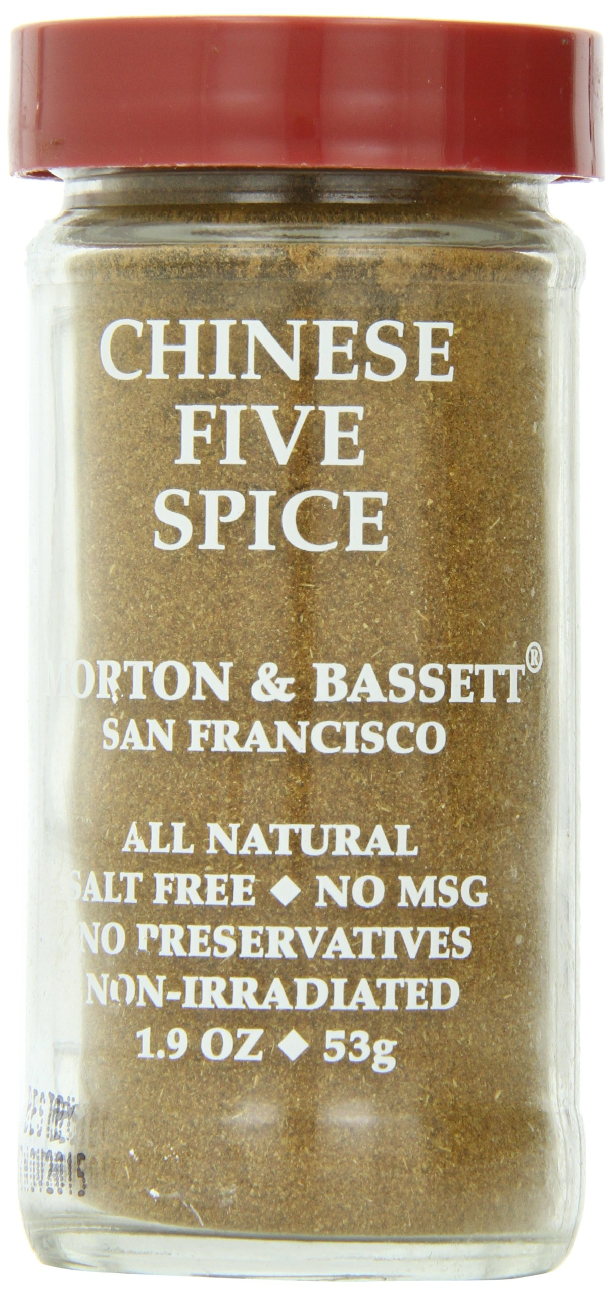 Morton & Basset Spices, Chinese Five Spice, 1.9 Ounce (Pack of 3)