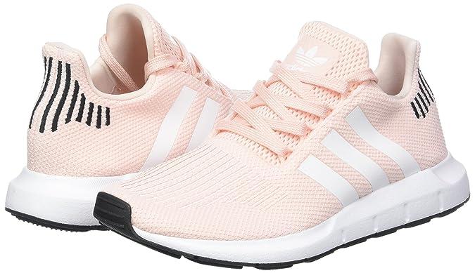 Amazon.com | adidas Womens Swift Run W, ICE Pink/Footwear/CORE Black | Road Running