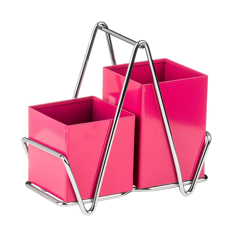 Premier Housewares Soporte para Cubiertos Hot Pink Centimeters